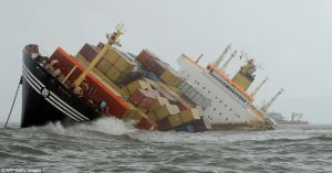 shipping disaster