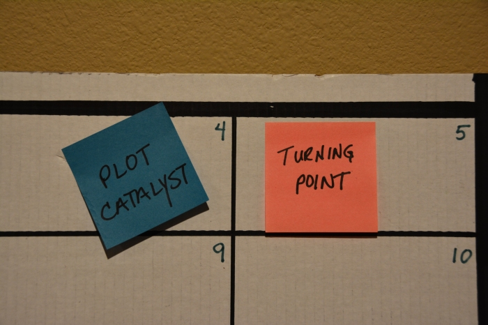 Plot Catalyst, First Turning Point